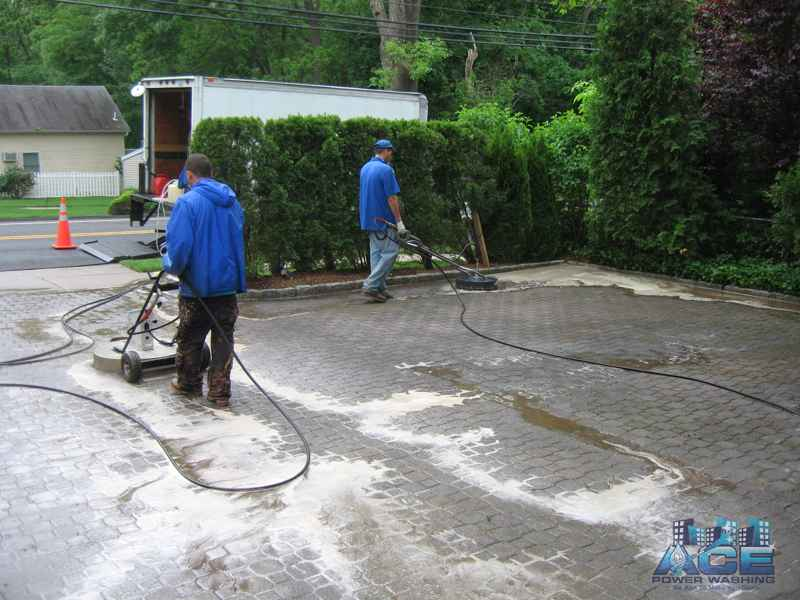 Cleaning concrete Pavers Paramus, NJ