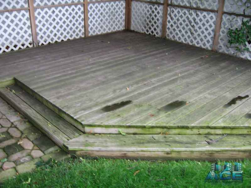 Pressure Treated Deck Restoration in Maywood, NJ
