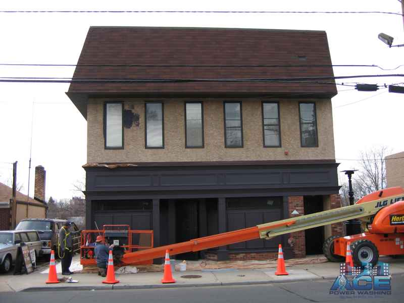 Exterior Building Painting in Paramus, NJ