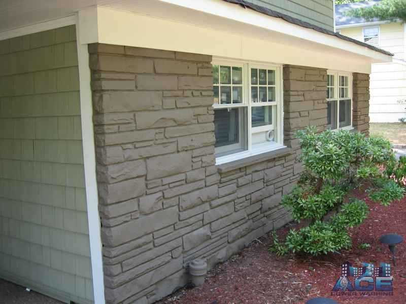 Exterior Brick Painting in Scotch Plains, NJ