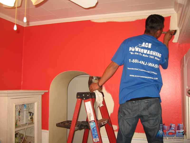 Interior Kitchen Painting in Montclair, NJ