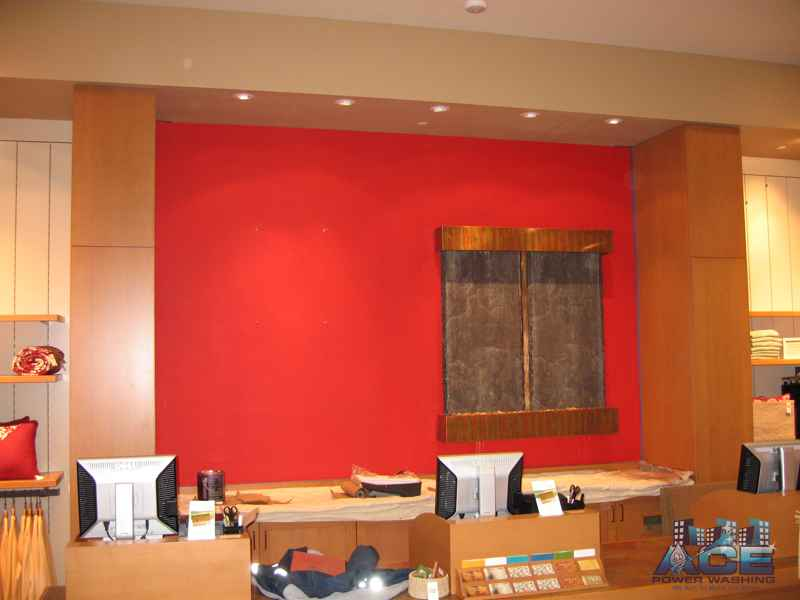 Interior Painting of Commercial Store in Clifton, NJ