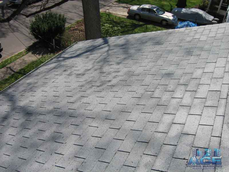 Completed Roof Cleaning in Dumont, NJ
