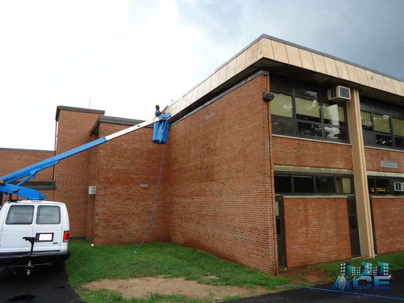 Exterior School Power Washing Services in Allendale, NJ